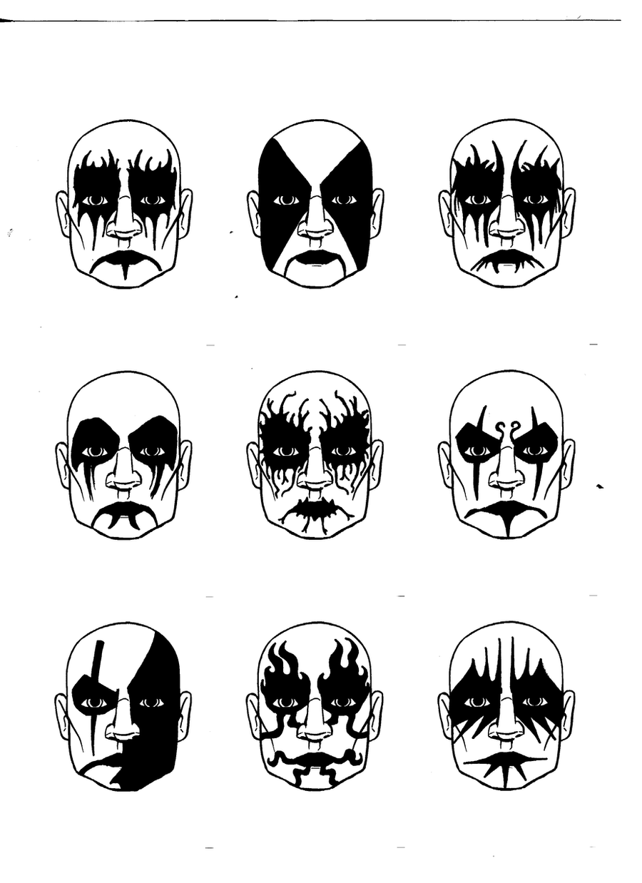 Gallery images and information corpse paint