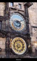 Praha Astronomical Clock. by fading-memories