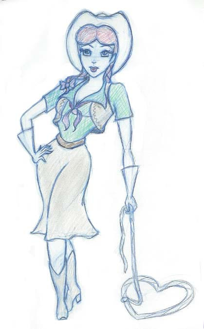 Slue Foot Sue Costume Drawing By Quinzel Creations On Deviantart