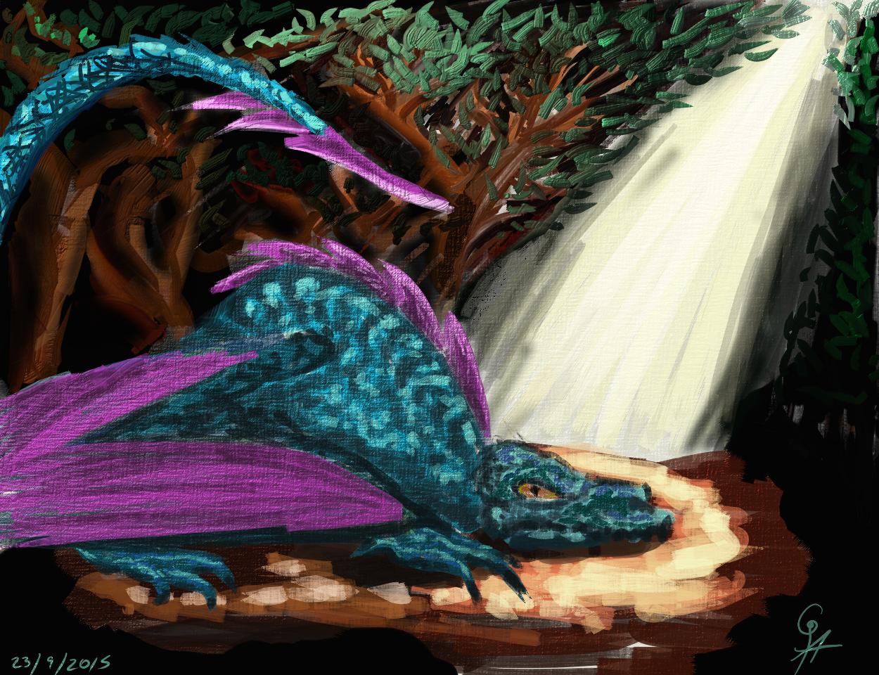 Dragon shrine by GhostlyAvenger on DeviantArt