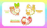 [CLOSED] KIOBUNS AUCTION - FRUIT DESSERT AND DRINK by Bme-Cutesyart