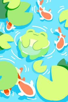 Chillin' froggy
