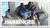 Harbinger stamp by oswo