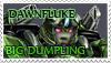 Dawnfluke 'Big Dumpling' stamp by oswo