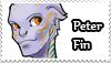 Peter Fin stamp by oswo