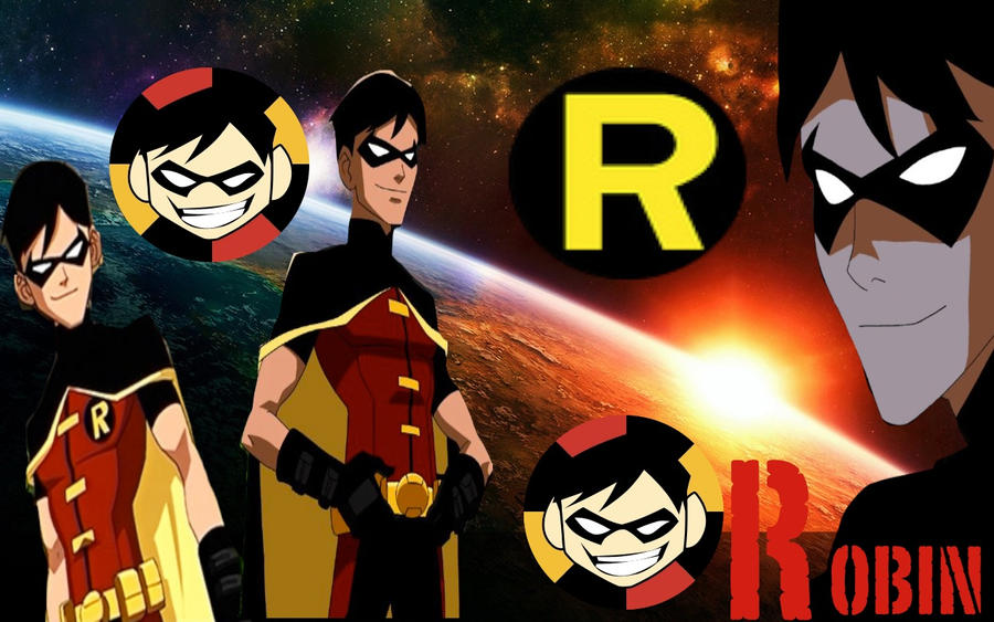 Young Justice Robin By Camacam11