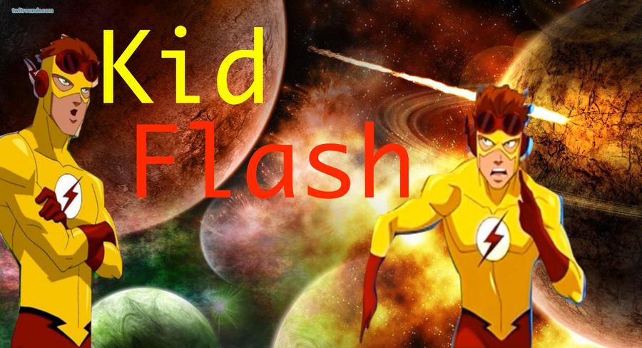Kid Flash and Flash