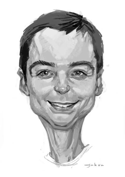 Sheldon Cooper by Monkill