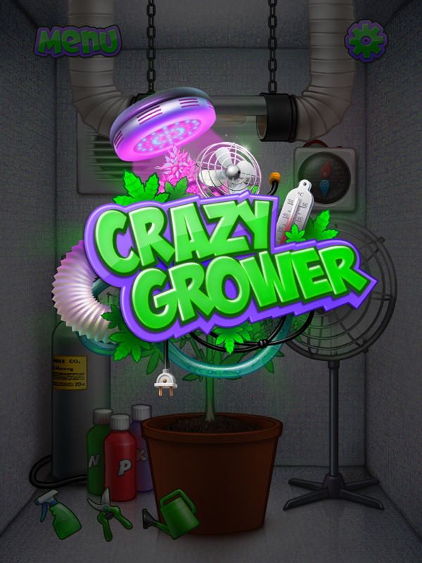 Crazy Grower Logo by Monkill