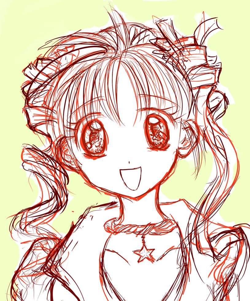 Mitsuki Practice Sketch #1 by MitsukiTenshi