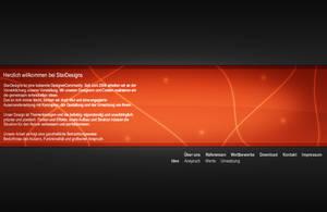 StarDesigns Portfolio Red by MaLH92