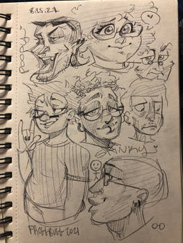 People/Faces Practice Aug.2021