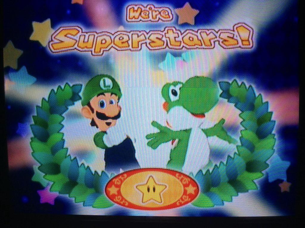 Green bros luigi and yoshi mario party 6 by - Luigi mario party ...