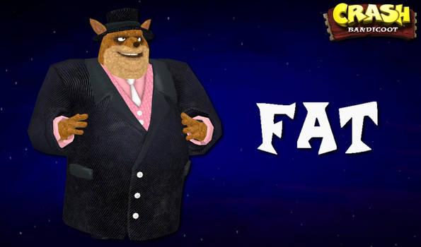 Crash Bandicoot Characters - Fat