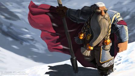 Haldric, Cleric of Moradin by DJWillardson