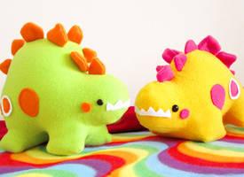 Stegosaurus Party 1 by casscc