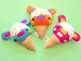 Baby Bunnycones by casscc