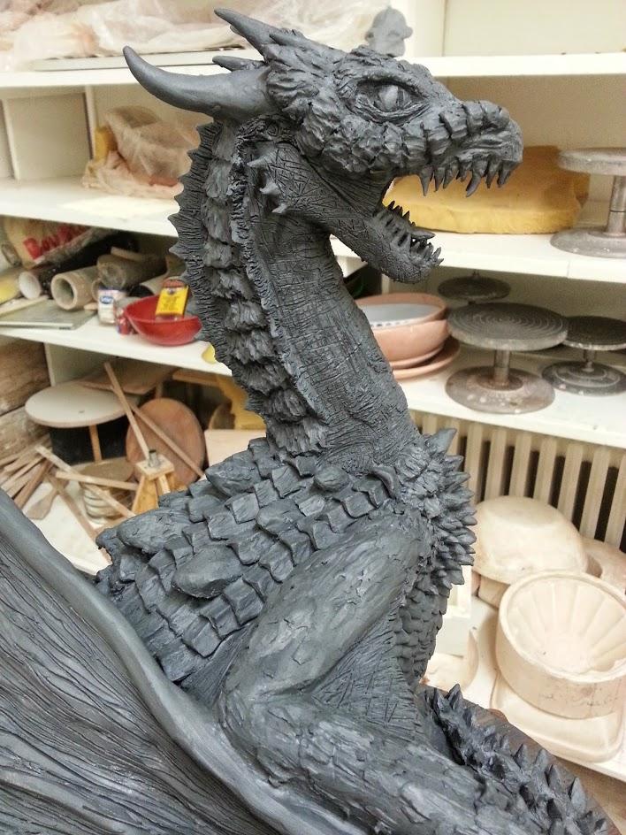 Dragon Sculpture by NatureSculptures