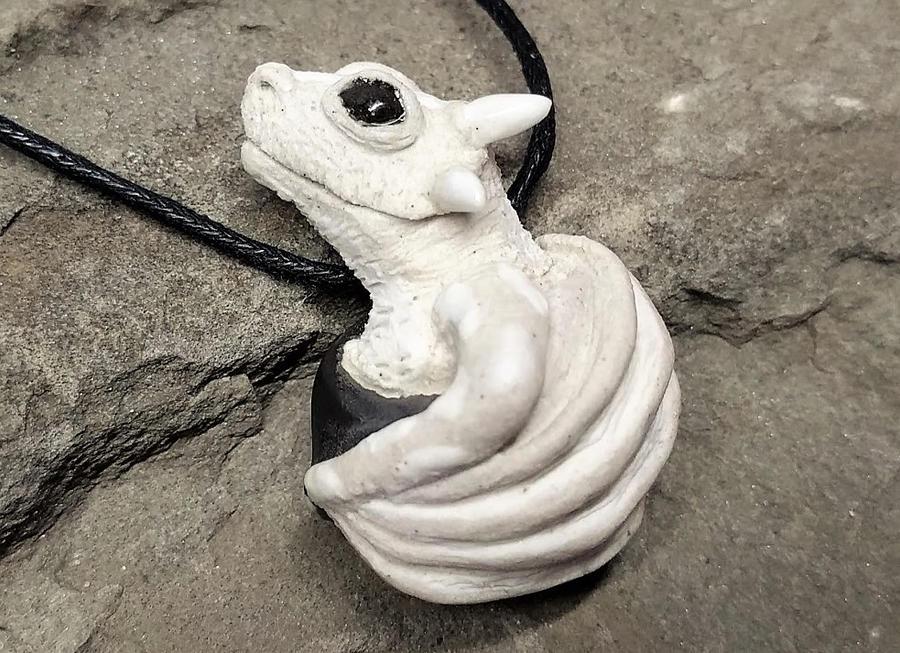 Dragon Pendant by NatureSculptures