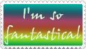 I'm So Fantastical Stamp by mindylu32