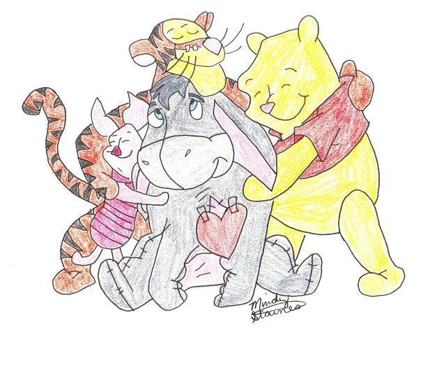 Winnie the Pooh and Friends by mindylu32 on DeviantArt