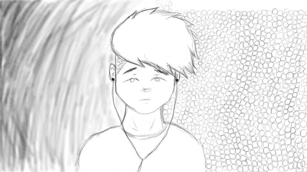 First digital art drawing by Magga02