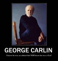 George Carlin Motivational by Werewolfsbane