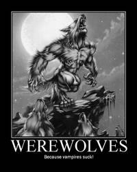 Werewolves Motivational by Werewolfsbane