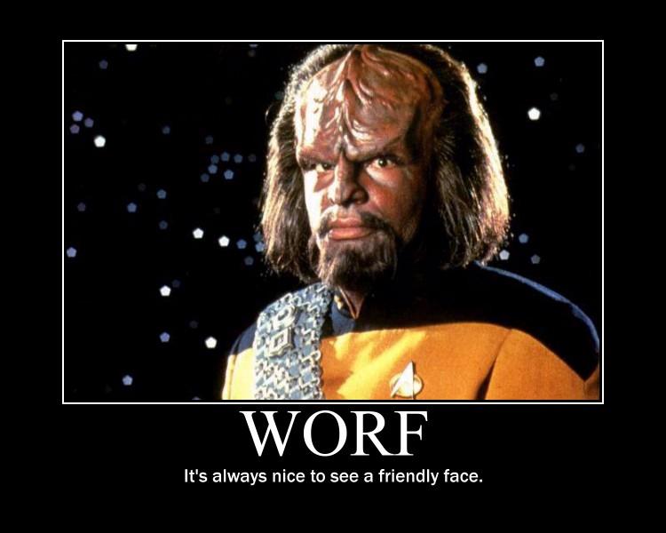Worf Motivational by Werewolfsbane