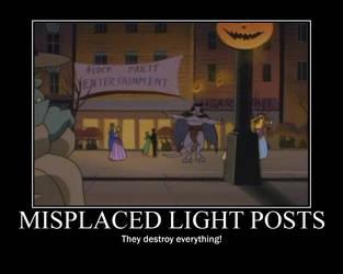 Light Posts Demotivational by Werewolfsbane