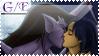 Goliath and Elisa Stamp by Werewolfsbane