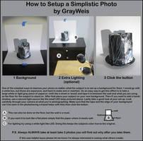 How to Setup a Simplistic Photo