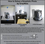 How to Setup a Simplistic Photo by GrayWeis