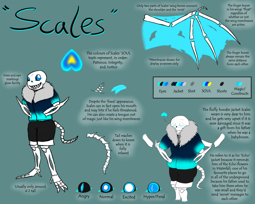 Scales!Sans Reference Sheet v4 by Endlesshunter