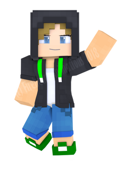 Me in Minecraft Style