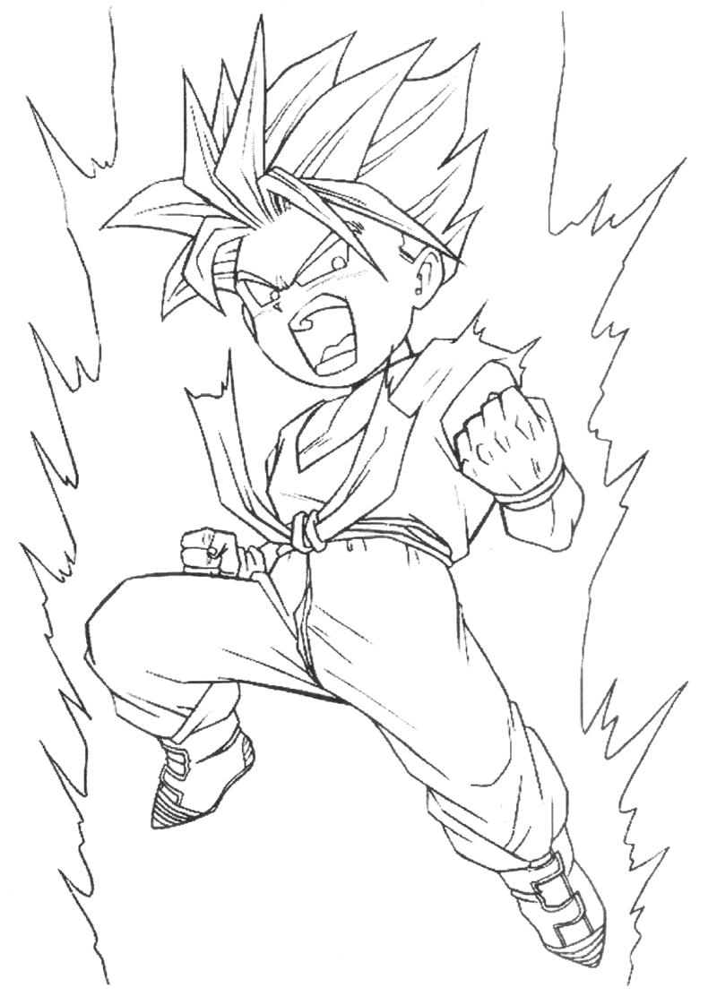 Trunks Coloring Pages