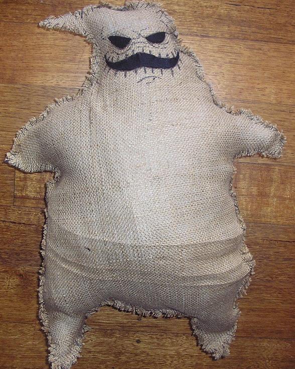 Oogie Boogie Costume Oogie Boogie Plush by