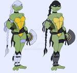 Venus De Milo - Ninja Turtles