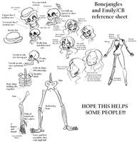 Bonejangles and CB references by Lily-pily