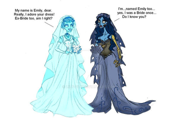 Ghost Bride VS Corpse Bride by Lily-pily on DeviantArt
