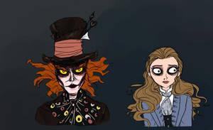 Burton Hatter and Alice