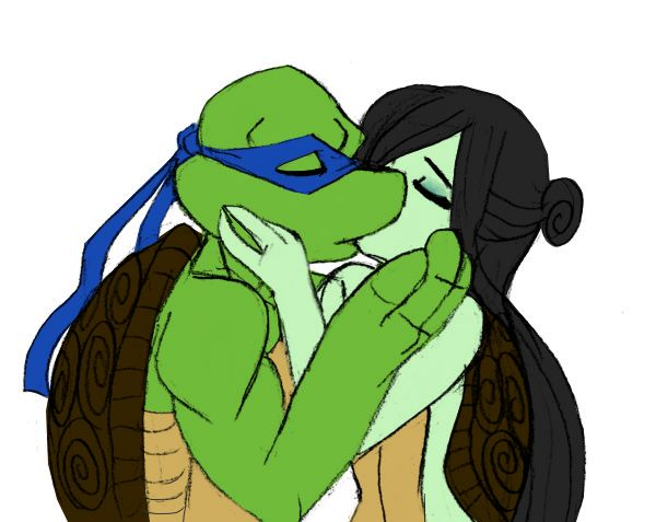 Teenage mutant ninja turtles leonardo and karai kiss fanfiction - photo#27