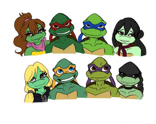 Never gonna see me broken TMNT