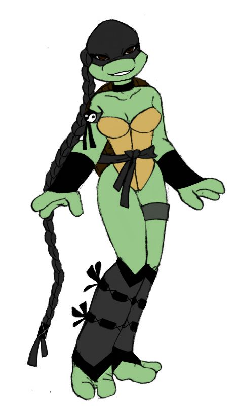Venus profile TMNT by Lily-pily on DeviantArt