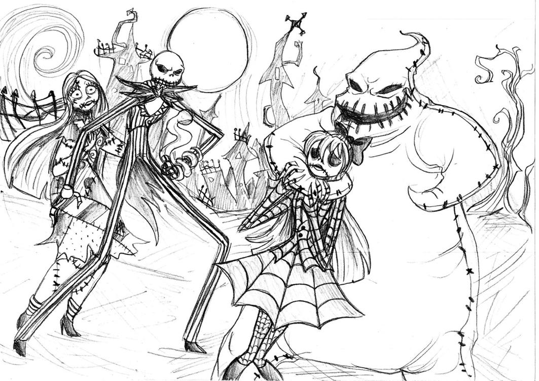 Sally With Jack The Pumpkin King Coloring Pages Coloring Pages The Pumpkin King Coloring Pages