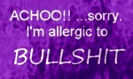 Allergies to Bullshit by Lily-pily