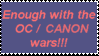 OC Canon Wars by Lily-pily
