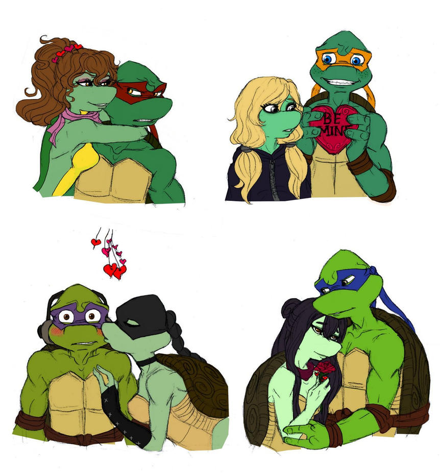 Love is in the air - TMNT by Lily-pily on DeviantArt