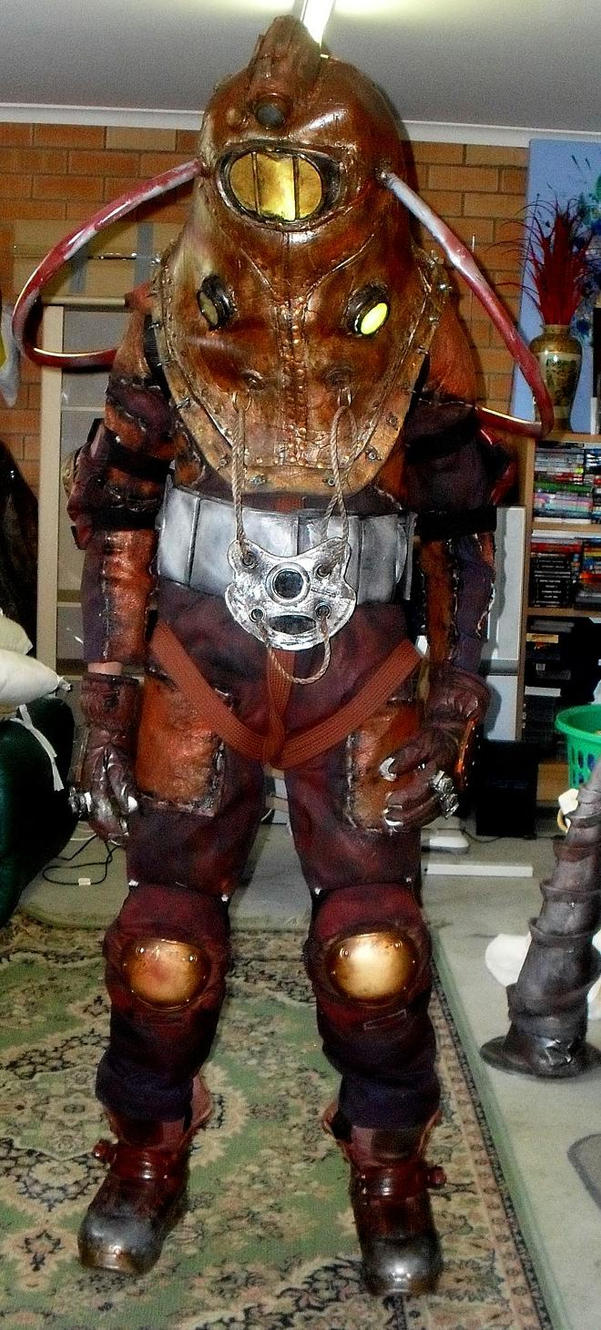 Big daddy delta bioshock cosplay by lily pily on deviantart for Big daddy s antiques