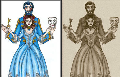 Blue Beard and the last wife by Lily-pily
